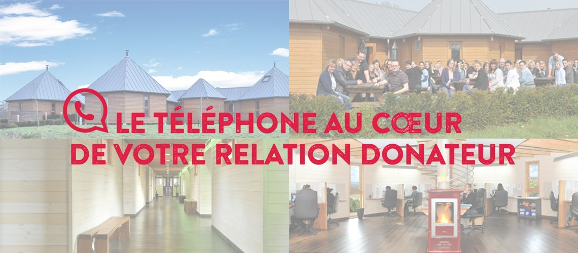 Talk Fundraising Accueil du site internet